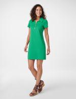 Marina Polo Collar Zip Dress - 5