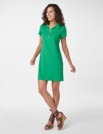 Marina Polo Collar Zip Dress - 6