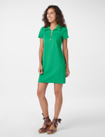 Marina Polo Collar Zip Dress - 7