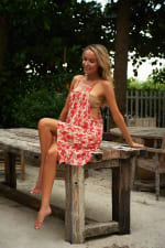 Violetta Beach Cover Up - 4