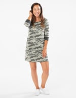 Camouflage Knit Dress - 3