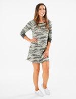 Camouflage Knit Dress - 5