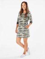 Camouflage Knit Dress - 4