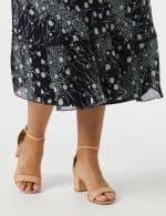 Bias Cut 4 Tiered Elastic Waist Pull On Skirt - 5