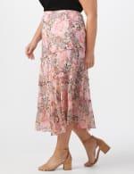 4 Tiered Elastic Waistband Skirt - 4
