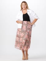 4 Tiered Elastic Waistband Skirt - 7
