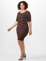 Tiered Bandage Dress - Plus - 3