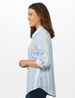 Denim Friendly Yarn Dye Stripe Shirt - Misses - 4