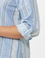 Denim Friendly Yarn Dye Stripe Shirt - Misses - 5