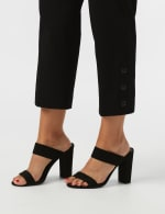 Superstretch Ankle Pants with Button Detail at the Hem - 10