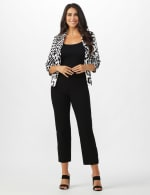 Superstretch Ankle Pants with Button Detail at the Hem - 11
