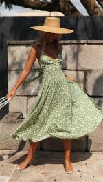 Spaghetti Strap Slip-on Dress - Misses - 6