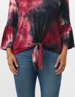 Westport Tie Dye Knit Top - 5