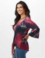 Westport Tie Dye Knit Top - 4