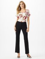 Roz & Ali  Secret Agent  Trouser With Cateye  Pocket  & Zipper - 5