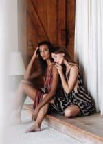 Striped Loose Dress - 7