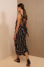 Striped Loose Dress - 9