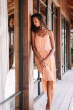 Lisa Midi Spaghetti-Strap Dress - 5