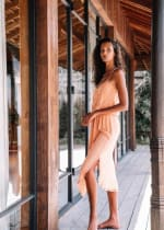 Lisa Midi Spaghetti-Strap Dress - 7