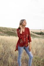 Westport Embroidered Shirt - Misses - 3