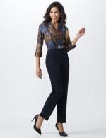 Roz & Ali Secret Agent  Pull on Tummy Control Pants with L Pockets - Average - 18