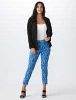 Printed  Superstretch Pull On Pants - 15