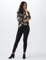 Westport Signature High Rise Pull On Jegging Jean - Black - Front