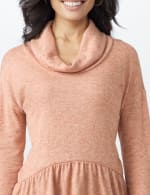 Cowl Neck Knit Top - 5