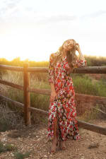 Reese Patch Floral  Dress - 1