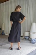 Savannah Dress - Plus -  - Back