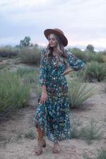 Moroccan Floral Veronica Dress - 3