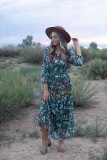 Moroccan Floral Veronica Dress - 4