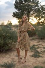 Luna Hanky Hem Dress - 4