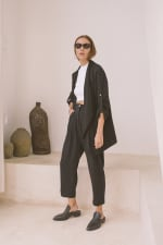 Bamboo Unstructured Jacket - 4