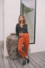 Cropped Classic Pants - 6