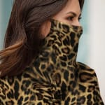 """""""Never Forget Your Mask"""" Animal Print Fashion Top - 3"""