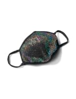 Confetti Sparkle Fashion Mask - Multi - Front