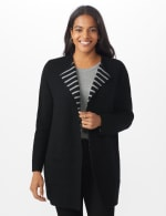 Roz & Ali Inner Beauty Coatigan Sweater - 7