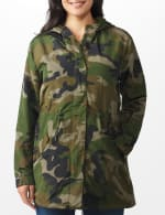 Long Nylon Anorak With Faux Fur Lining - 5