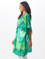 Palm Print Butterfly Cover Up - 4