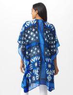 Tie Dye Butterfly Swim Cover Up - Blue Multi - Back