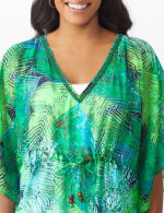 Palm Print Butterfly Cover Up - 5