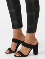 Pull On Plaid  Compression Fit Print Pant - 4