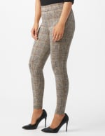 Pull on Knit Ankle Pant with Double Scoop Pockets - 4