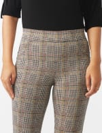 Pull on Knit Ankle Pant with Double Scoop Pockets - 5