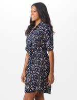 Ditsy Print Shirt Dress - 3
