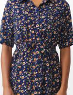 Ditsy Print Shirt Dress - 4