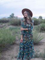 Moroccan Floral Veronica Dress - 1
