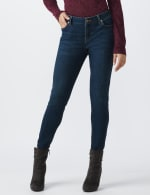 Petite Westport Signature 5 Pocket Skinny Jean - Dark Wash - Front