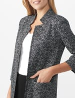 Printed Topper with Notch Collar - 11